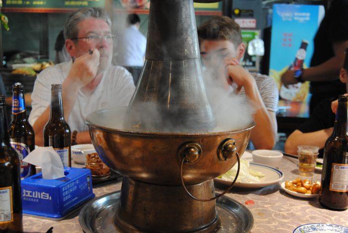 6.10.18 Mittagessen: traditioneller Huoguo